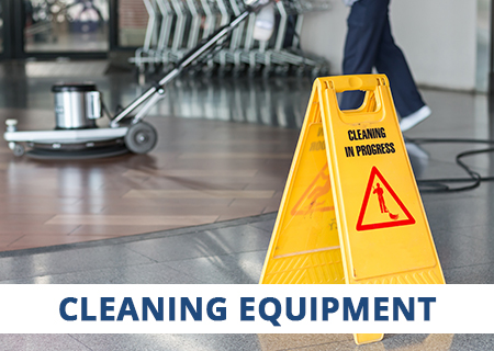 CaterQuip supplies a full range of Domestic and Industrial Cleaning Equipment.